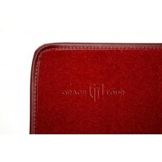Дополнительный ворс текстильный красный гладкий