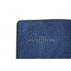 Дополнительный ворс текстильный синий гладкий мягкий