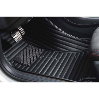 Автоковрики GT чёрный