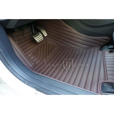 Автоковрики GT коричневый