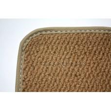 Дополнительный ворс текстильный бежевый объемный