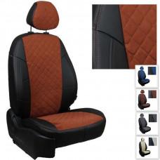 Авточехлы для Chevrolet Cruze седан/хэтчбек/универсал ИЗ АЛЬКАНТАРЫ РОМБ
