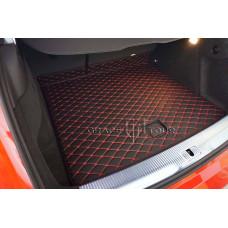 Автомобильный коврик в багажник 2D Премиум бежевый
