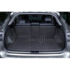 Автомобильный коврик в багажник 3D Люкс бежевый