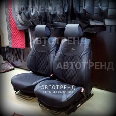 Накидки на сиденья 3D STING черный