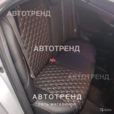 Авточехлы из экокожи Ромб Премиум