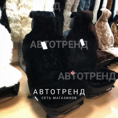 """Меховые накидки из австралийской овчины """"Элит"""" (Черный)/весь салон"""