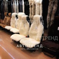 """Меховые накидки из австралийской овчины """"Элит"""" (Белый)"""