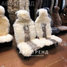 """Меховые накидки из меха лисы """"Эксклюзив"""" (Белый)"""