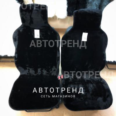 Накидки из искусственного меха (Черный)/весь салон