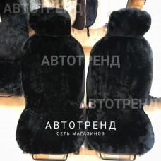 Накидки из овечьей шерсти (Черный) /весь салон