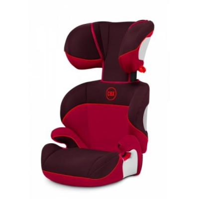 Автокресло Cybex Solution  Rumba Red 15-36 кг