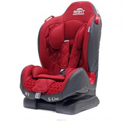 Автокресло детское Rant Jet 9-25 кг Red