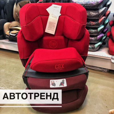 CBX by Cybex Aura-Fix гр.1/2/3/ (9-36кг) Rumba Red