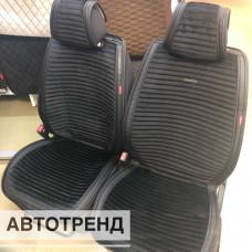 Накидки на сиденья Премиум АВТОТРЕНД черный