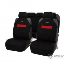 Авточехлы на сиденья GTL Mover Plus (майки) красный