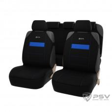Авточехлы на сиденья GTL Mover Plus (майки) синий