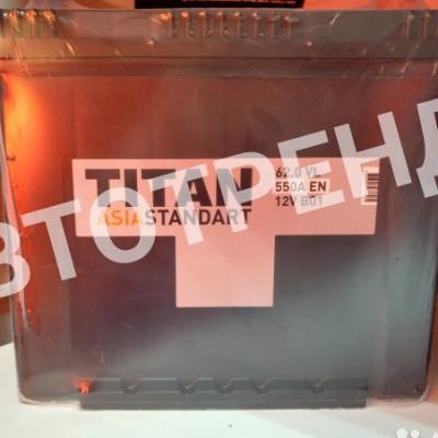 Аккумулятор автомобильный Titan Asia Standаrt 62 Ач Обратная полярность