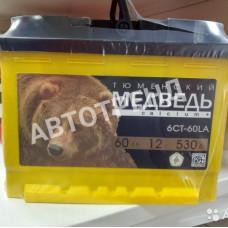 Аккумулятор автомобильный Медведь Super Start Ca+ 60 Ач