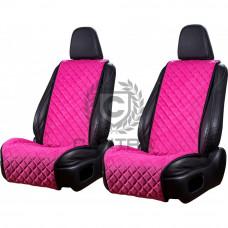 Накидки из алькантары CANTRA Широкие (Розовый)