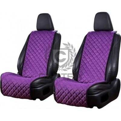 Накидки из алькантары CANTRA Широкие (Фиолетовый)