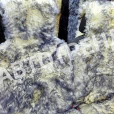 """Меховые накидки из овчины """"Экстра"""" (Пестро-серый)"""
