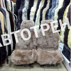 """Меховые накидки из овчины """"Экстра"""" (Капучино)"""