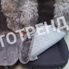 """Меховые накидки из овчины """"Элит-Комбо"""" (Серый)"""