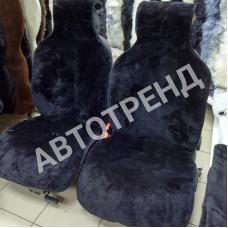 """Меховые накидки из овчины """"Тренд"""" (Черный)"""