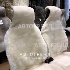 """Меховые накидки из овчины """"Комфорт"""" (Белый)"""