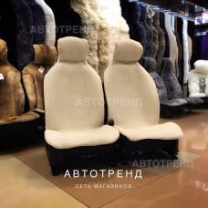 Накидки из овечьей шерсти (Белый)