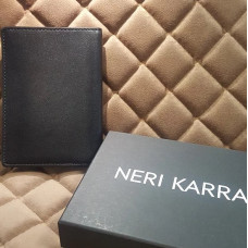 Обложка для автодокументов NERI KARRA (нат.кожа) синий / фиолетовый